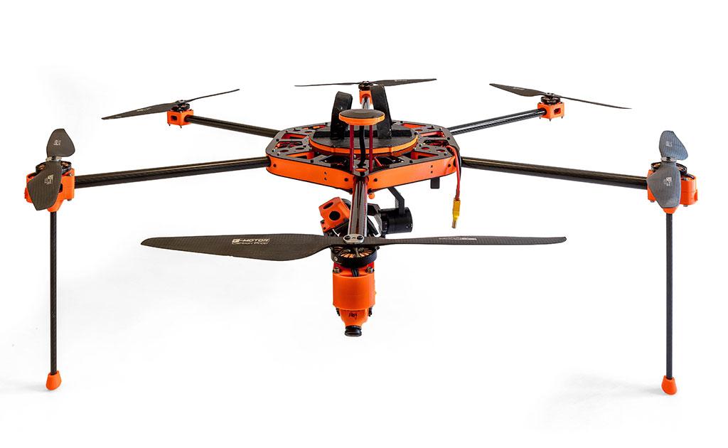 Multicóptero Ecoespacio Drones
