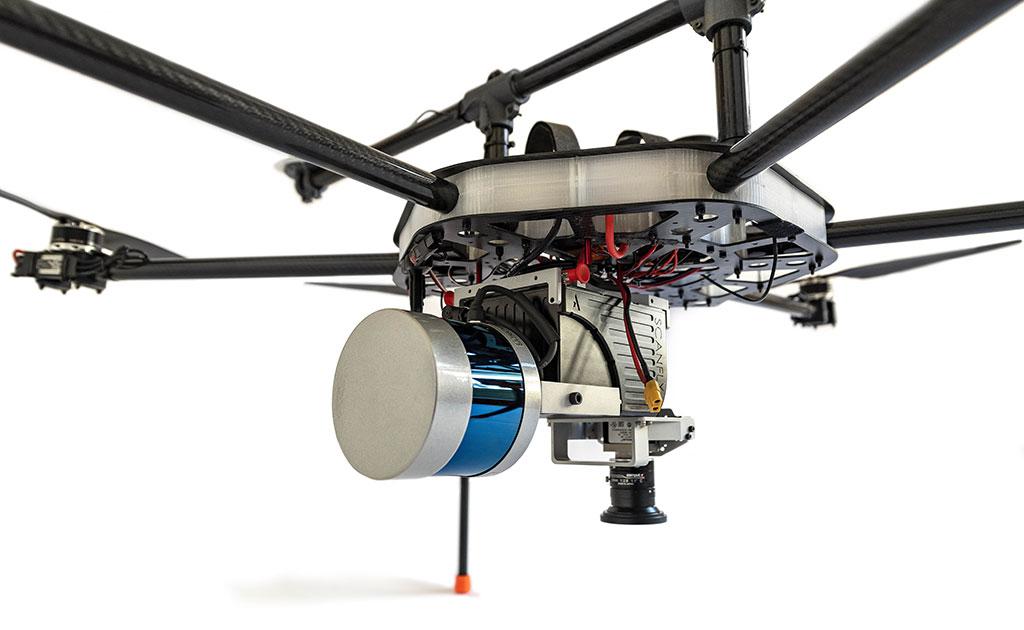 Dron con Lidar