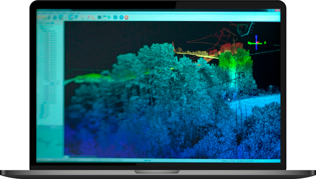cartografía con Tecnología LIDAR